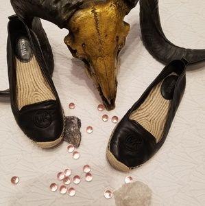 Michael Kors Black Espadrilles Shoes 7